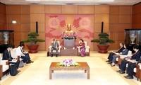 Les ambassadeurs japonais et cambogien reçus par Nguyên Thi Kim Ngân