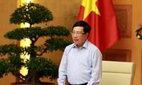 Covid-19: Pham Binh Minh salue l'efficacité de la diplomatie en ligne et de la communication