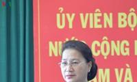 Nguyên Thi Kim Ngân en déplacement à Dak Nông