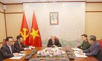 Entretien téléphonique Nguyên Phu Trong - Hun Sen