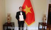 Pham Cao Phong remet ses lettres de créance à la gouverneure générale du Canada