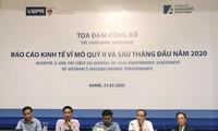Le VEPR prévoit une croissance au Vietnam de 3,8 % en 2020