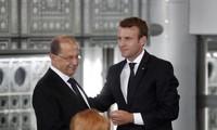 Le président français est arrivé à Beyrouth, capitale sinistrée du Liban