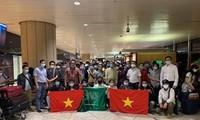 Plus de 270 Vietnamiens rapatriés de Cypre et d'Arabie saoudite