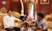 Lê Kha Phiêu, un soutien du Laos