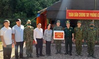 Cao Bang: Truong Thi Mai salue les efforts des gardes-frontières