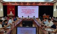 Colloque sur les 75 ans de la Déclaration d'indépendance du Vietnam