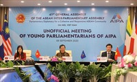 AIPA-41 : visioconférence informelle des jeunes parlementaires