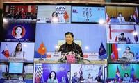 AIPA-41 : visioconférence des femmes parlementaires