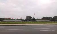 La place Ba Dinh, la place de l'indépendance du Vietnam
