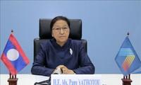 La présidente de l'Assemblée nationale laotienne apprécie l'organisation de l'AIPA-41
