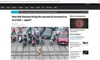 Un journal australien salue les mesures du Vietnam contre le Covid-19