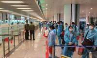 Le premier vol commercial Seoul - Hanoï atterrit à l'aéroport de Nôi Bài
