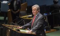 La seule façon d'éliminer le risque nucléaire est de mettre fin à ce type d'armes, affirme António Guterres