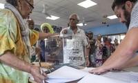 """Nouvelle-Calédonie: """"Non"""" à l'indépendance avec 53,26 % des voix, en recul par rapport à 2018"""