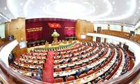 Deuxième journée de travail de la 13e réunion du Comité central du Parti, XIIe exercice