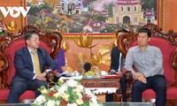 Le nouveau directeur de la JICA reçu par le vice-président de VOV