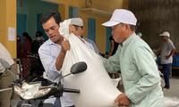 Sécheresse : plus de 900 tonnes de riz seront distribués à 15.000 foyers démunis de Ninh Thuân