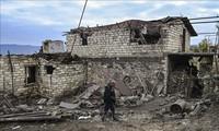 Nagorny Karabakh: Poutine et Erdogan appellent à des «efforts solidaires» pour la paix