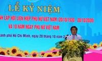 Célébrations de la Journée des femmes vietnamiennes