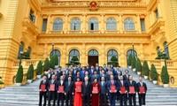 Nguyên Phu Trong nomme neuf nouveaux ambassadeurs vietnamiens