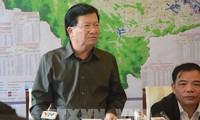 Trinh Dinh Dung appelle à une vigilance maximale face au typhon Molave