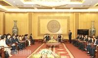 Le président de l'Assemblée nationale sud-coréenne en visite à Ninh Binh