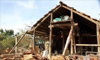 Intempéries: le Royaume-Uni accorde 500.000 livres aux sinistrés du Centre