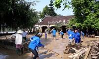 Au chevet des étudiants victimes des crues et inondations dans le Centre
