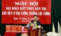 Pham Binh Minh célèbre la Journée de la grande union à Nam Dinh