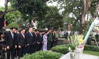 Commémoration du 100e anniversaire de la naissance du défunt président Lê Duc Anh