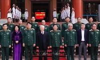 Nguyên Phu Trong préside la conférence militaire nationale de 2020