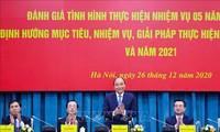 Nguyên Xuân Phuc à la conférence bilan du secteur de la construction