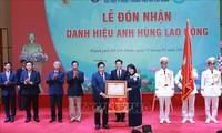 L'Université de médecine de Hô Chi Minh-ville devient Héros du Travail