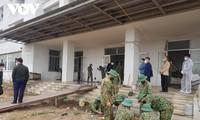 Covid-19: la construction du troisième hôpital de campagne à Hai Duong sera achevée le 6 février