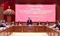 Vuong Dinh Huê souhaite que Hanoï demeure un grand centre culturel du pays