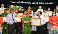 Hô Chi Minh-ville: mise à l'honneur de 129 «exemples silencieux mais nobles»