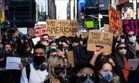 États-Unis : rassemblement à Atlanta en soutien à la communauté asiatique après les fusillades de mardi