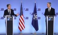 """En visite à Bruxelles, Antony Blinken veut """"revitaliser"""" l'alliance avec l'Otan"""