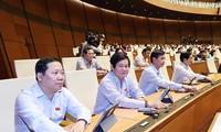L'Assemblée nationale relève de leur fonction un vice-Premier ministre et 12 ministres