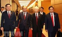 Messages de félicitation aux nouveaux dirigeants vietnamiens
