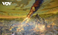 67e anniversaire de la victoire de Diên Biên Phu: inauguration d'une fresque géante