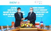 Energie verte: BIDV reçoit un prêt de 100 millions de dollars de l'AFD