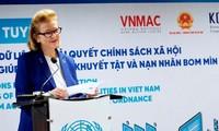 Application numérique pour les handicapés au Vietnam