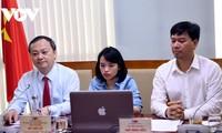 Entretien entre le nouveau président de la Voix du Vietnam et le secrétaire général de l'ABU