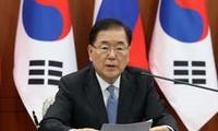 Séoul promet des efforts pour promouvoir «les valeurs onusiennes de paix, liberté et prospérité» sur la péninsule