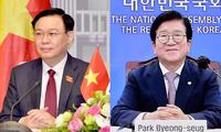 Entretien Vuong Dinh Huê - Park Byeong-seug