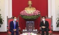 Vo Van Thuong reçoit Chay Navuth