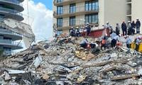 Effondrement d'un immeuble en Floride: le bilan s'alourdit à 16 morts, 147 personnes toujours portées disparues