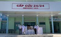 Remise de 20 respirateurs artificiels à sept provinces et grandes villes